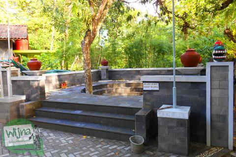 Suasana di Sendang Klampok, Mata air pengharapan di Salamrejo, Sentolo, Kulon Progo untuk wisata ziarah