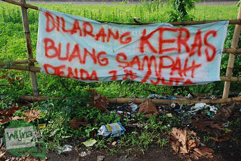 Hasil Observasi Penelitian Sampah di Sepanjang Selokan Mataram Yogyakarta