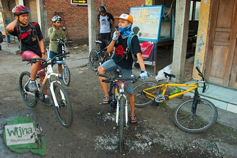 cerita bersepeda melewati Tanjakan Patuk menuju Desa Wisata Jurug Taman Sari, Gunungkidul