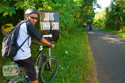 cerita bersepeda menuju Curug Lengkongsari di Desa Semoyo, Patuk, Gunungkidul