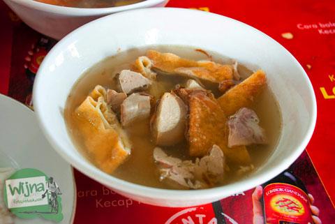 Kuliner timlo sastro pasar gede khas kota Solo, Jawa Tengah sejak tahun 1952
