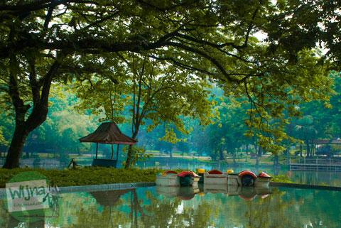 Foto kolam permainan anak di Taman Satwa Taru Jurug Surakarta pada tahun 2014