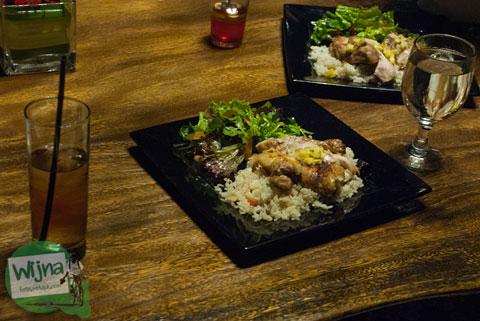 menu chicken butter ala restoran Abhayagiri Sumberwatu Heritage, Prambanan, Yogyakarta