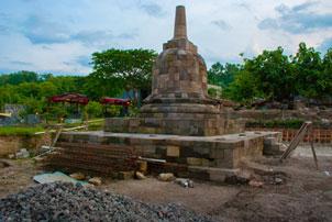 Thumbnail untuk artikel blog berjudul Stupa Sumberwatu