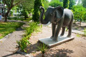 Suatu Pagi di Gajah Wong Park Umbulharjo