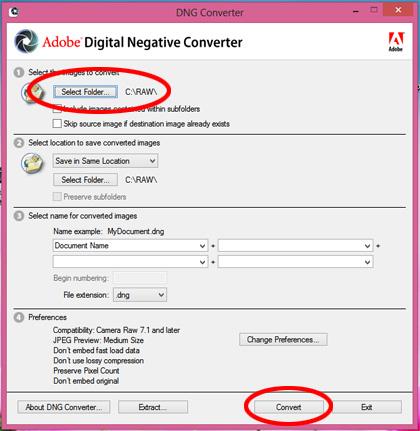Cara Membuka File RAW Pentax di Photoshop versi lama Pakai DNG