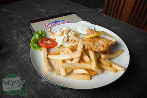 Fish and Chips Cimory Riverside Bogor