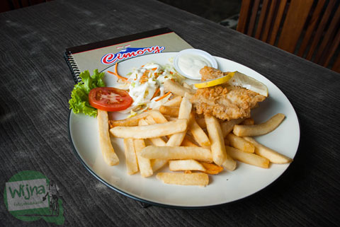 Fish and Chips Cimory Riverside Bogor
