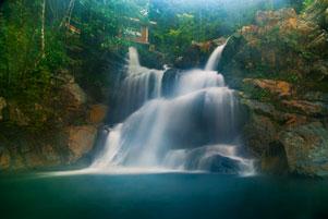 Thumbnail untuk artikel blog berjudul Air Terjun Suhom di Urutan Pertama