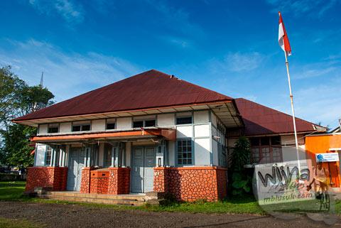 Sejarah Bangunan Kantor Pos Pusat kota Bengkulu