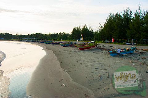 Suasana kampung nelayan di Bengkulu