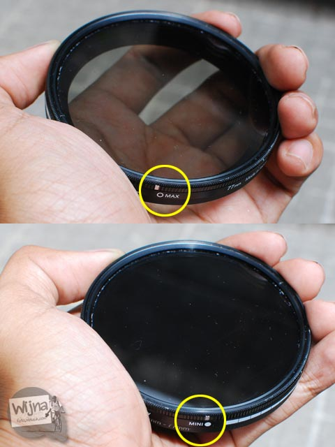 Review Filter Hoya Variable Density 3-400