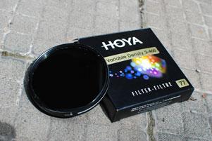 Thumbnail untuk artikel blog berjudul Review Filter Hoya Variable Density 3-400