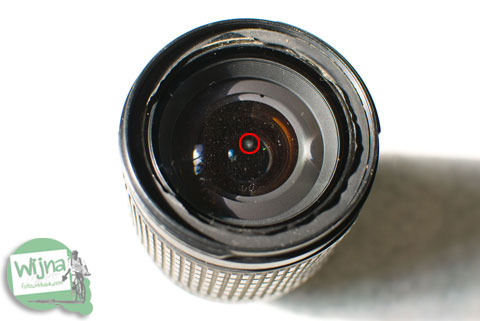 bahaya debu di dalam lensa kit DSLR Nikon