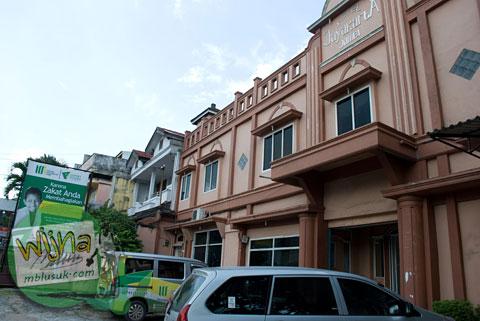 Tampak Depan Hotel Jayakarta Jambi