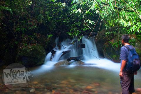 Keberadaan Air Terjun Pendung, Kerinci, Jambi yang tersembunyi