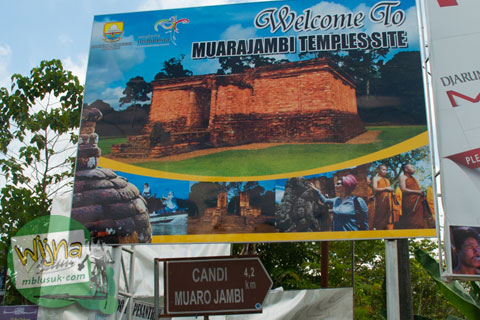 Panduan Arah ke Kompleks Candi Muaro Jambi