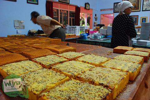 Roti Pisang Bu Basuki khas desa Jonggrangan Klaten Murah