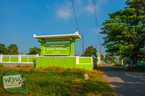 Pejuang Kemerdekaan di Taman Makam Pahlawan Ratna Bantala Klaten