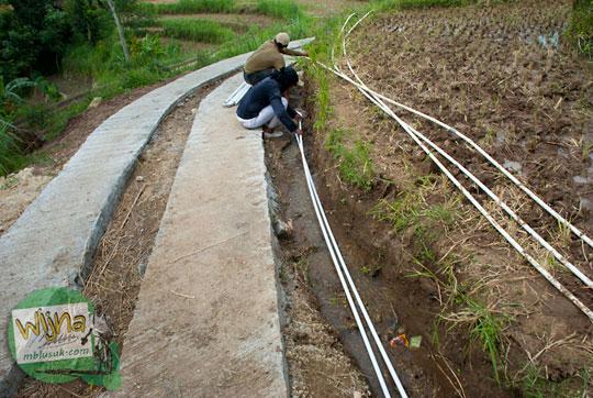 Air Terjun Banyunibo di perbatasan Manyaran, Wonogiri dan Semin, Gunungkidul kasus hamil di luar nikah