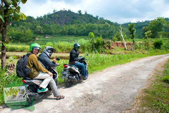 Air Terjun Banyunibo di dusun Ngluwur, desa Kepuhsari, kecamatan Manyaran, kabupaten Wonogiri Jawa Tengah