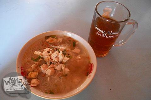 harga semangkuk sop ayam pecok satriyan pak kebo kuliner enak khas kebonarum klaten