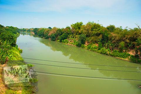 Mayat anggota PKI mengambang di sungai Bengawan Solo