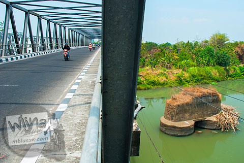Perbandingan Jembatan Bacem Sukoharjo yang Lama dan Baru