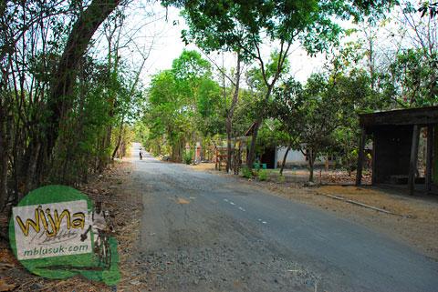 Jalan Menuju Sendang Mandong, lokasinya di kecamatan Trucuk, Klaten, Jawa Tengah