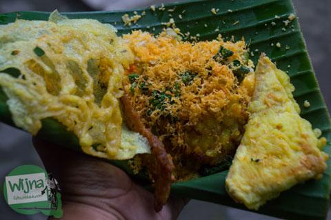 nasi jagung adalah kuliner khas Nganjuk yang merakyat dan harganya murah