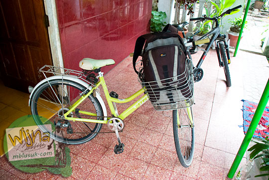 cerita bersepeda santai di Nganjuk bersama teman ke Candi Lor di Loceret