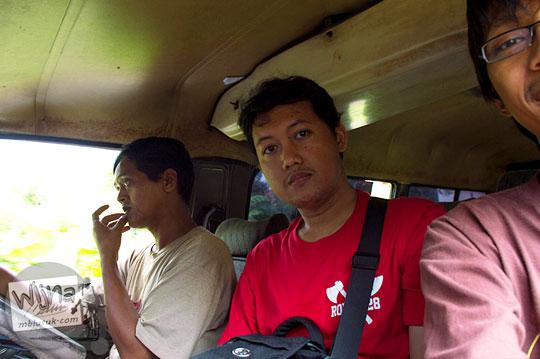 tarif jasa ojek dari Kota Nganjuk ke Air Terjun Singokromo, Ngliman, Sawahan pada tahun 2015