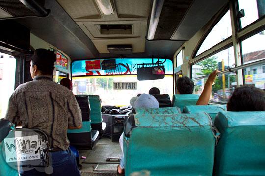 tarif ongkos dan rute angkot dari Kota Nganjuk ke Air Terjun Singokromo di Ngliman, Sawahan pada tahun 2015