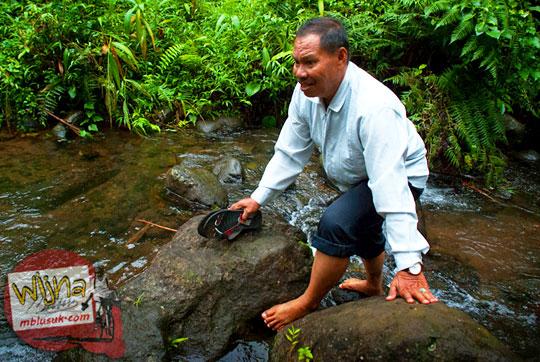 tarif jasa ojek dari kota agung ke Air Terjun Kembar Lamuran di Tanggamus pada Maret 2015