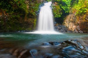 Air Terjun Lubuak Tampuruang (yang katanya) di kota Padang