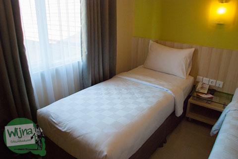 Suasana kamar hotel Sofyan Inn Rangkayo Basa, Padang