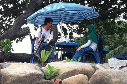 Petuah Senja di Pantai Padang