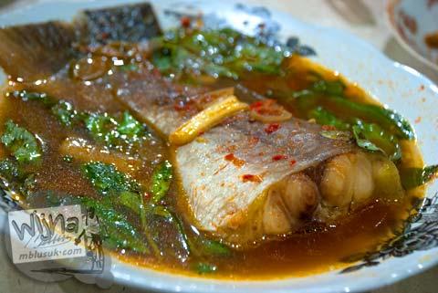 resep enak dan mudah gampang ikan pindang patin khas palembang