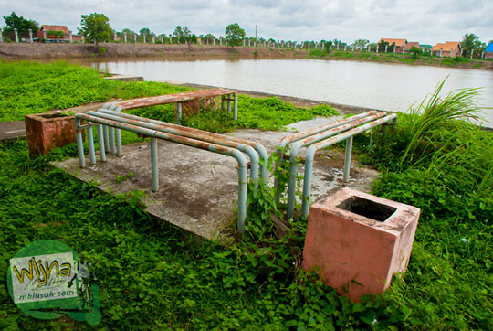 Buruknya Pengelolaan fasilitas Taman Purbakala Kerajaan Sriwijaya Palembang