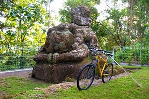 Thumbnail artikel blog berjudul Arca Ganesha si Penunggu Hutan Dawangsari