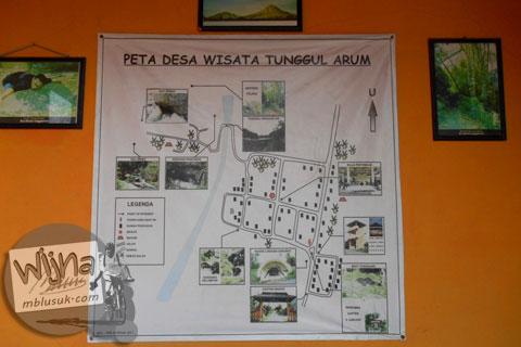 peta potensi desa wisata Tunggul Arum, Turi, Sleman di tahun 2015