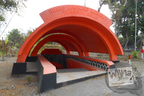 Bunker Merapi desa wisata Tunggul Arum, Turi, Sleman di tahun 2015
