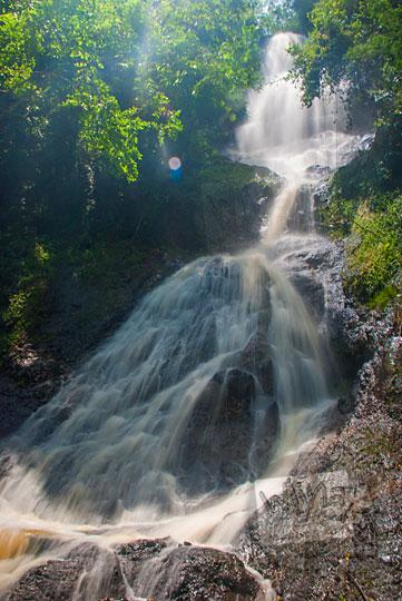 air terjun perawan di dusun Ngliseng, Muntuk, Dlingo, Bantul