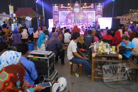 Suasana Festival Djadjanan Kekoenoan 2015 di Jogja Expo Center