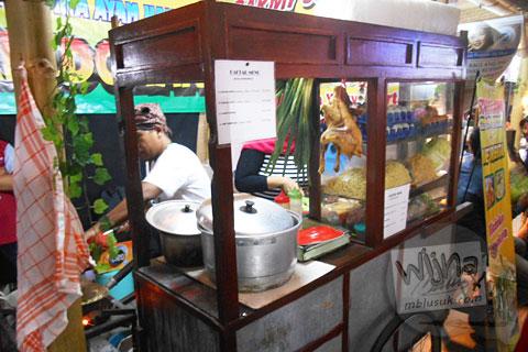 Gerai Bakmi Jawa di Festival Djadjanan Kekoenoan 2015 di Jogja Expo Center