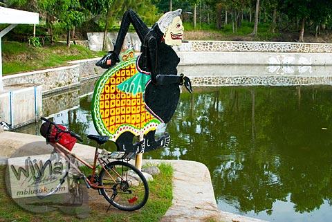 Pagi Hari di Embung Donomulyo Asri, Gancahan, Godean, Sleman, Yogyakarta