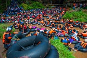 Thumbnail artikel blog berjudul Nyepi yang Sibuk di Gua Pindul