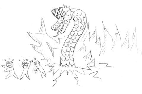 Cerita asal-usul Gua Lawa dan Nagabumi dalam Komik