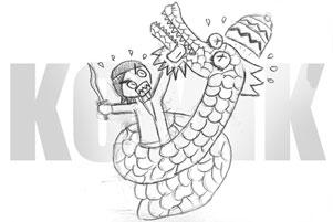 Thumbnail untuk artikel blog berjudul Legenda Nagabumi dalam Komik