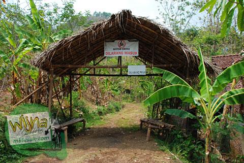 Motor cross dilarang di desa Boro, Kalibawang, Kulon Progo